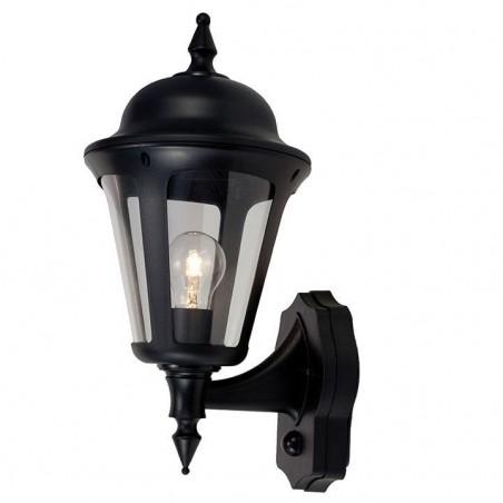 Ansell ALWL/PIR/BL Latina Polycarbonate Wall Lantern with PIR 42W Black