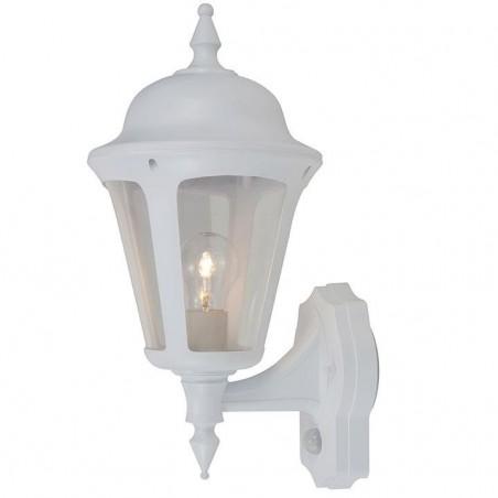 Ansell ALWL/PIR/WH Latina Polycarbonate Wall Lantern with PIR 42W White