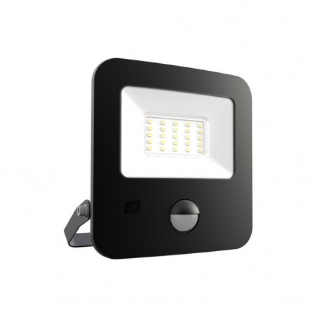 Ansell AZILED20/PIR Zion LED Polycarbonate Floodlight - PIR - 20W Cool White
