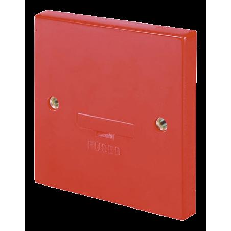 Click WA049RD Conn Unit Fused 3A Red