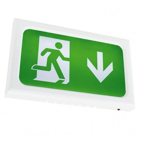 Ansell AENLED/3M/W Encore LED Exit Sign Maintained / Non-Maintained 2.6W White