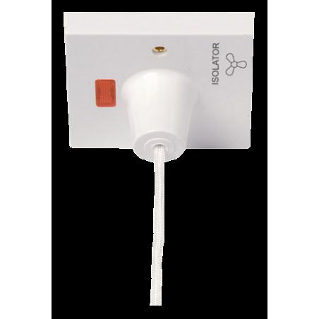 Click PRW208 Switch Fan Isol 3P 10A White