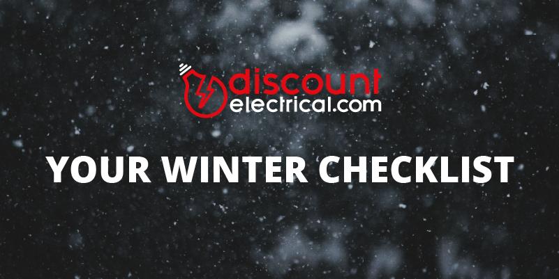 Winter maintenance checklist