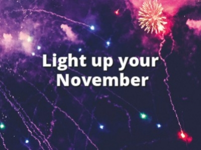 Light up November...
