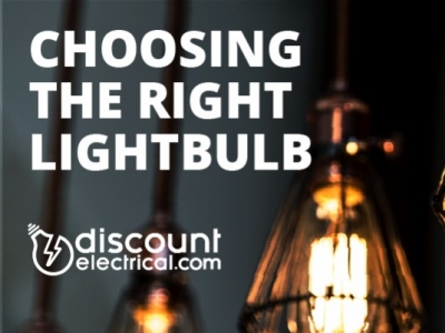 Choosing the right lightbulb